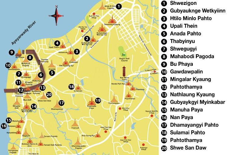 Bagan_mapa